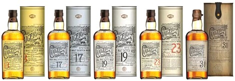 Craigellachie - new whisky range