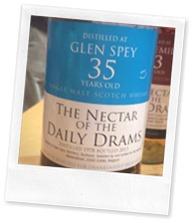 Glen Spey 1978 Daily Dram