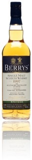 Aultmore 1997 - Berrys' Own Selection