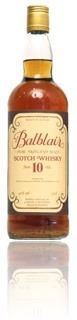 Balblair 10 years G&M