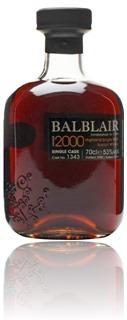 Balblair 2000 single cask #1345