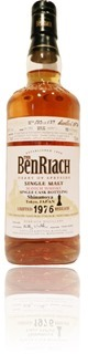 BenRiach 1976 cask #3029 Shinanoya