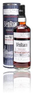 BenRiach 1977 - cask 1033 - pedro ximenez