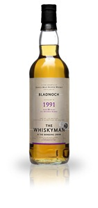 Bladnoch 1991 The Whiskyman & The Bonding Dram