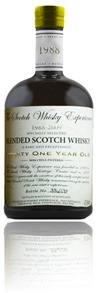 Blend 21 years old - The Scotch Whisky Experience