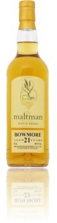 Bowmore 21 years - The Maltman