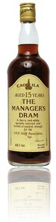 Caol Ila 15yo Manager's Dram
