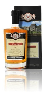 Caol Ila 1981 (Malts of Scotland 11009)