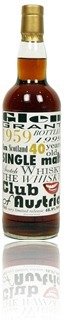 Glen Grant 1959 - Whisky Club Austria