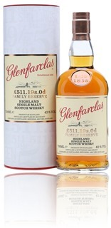 Glenfarclas £ 511.19s.0d Family Reserve