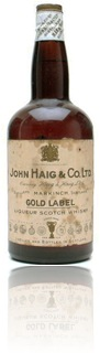 Haig Gold label (late George V) 1940's