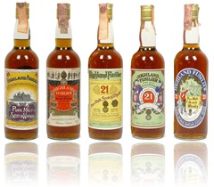 Highland Fusilier 21yo labels