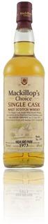 Highland Park 1973/2007 - Mackillop's Choice