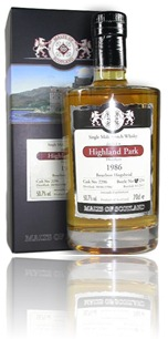 Highland Park 1986 - Malts of Scotland