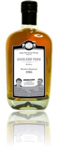 Highland Park 1986 Malts of Scotland