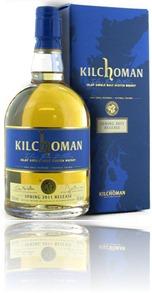 Kilchoman Spring release 2011