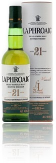 Laphroaig 21 Year Old