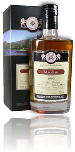 Macallan 1990 Fino - Malts of Scotland