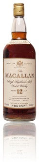 Macallan 12 years HKDNP