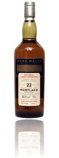 Mortlach 22 yo 1972 - Rare Malts