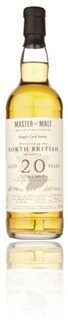 North British 1991 20yo - Master of Malt
