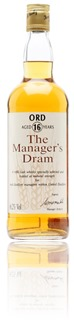 Glen Ord 16 Years - Manager's Dram