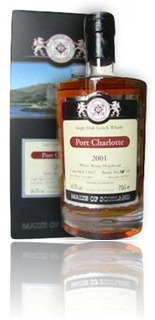 Port Charlotte 2001 Malts of Scotland