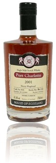 Port Charlotte 2001 sherry