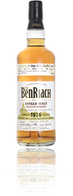 BenRiach 1976 cask 3029 for Shinanoya