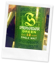 Springbank Green 12 Years Old