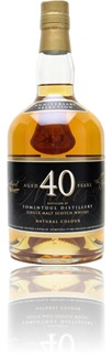 Tomintoul 40y - Specialty Drinks