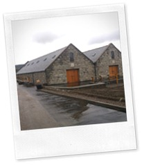New warehouses at Knockdhu