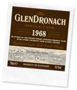 GlenDronach 1968 cask 1
