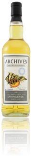 Springbank 1996 - Archives cask #550