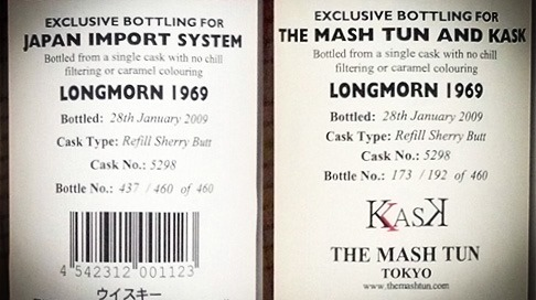 Japan Import System / The Mash Tun and Kask
