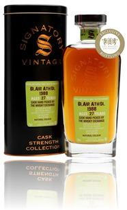 Blair Athol 1988 - Signatory Vintage - The Whisky Exchange