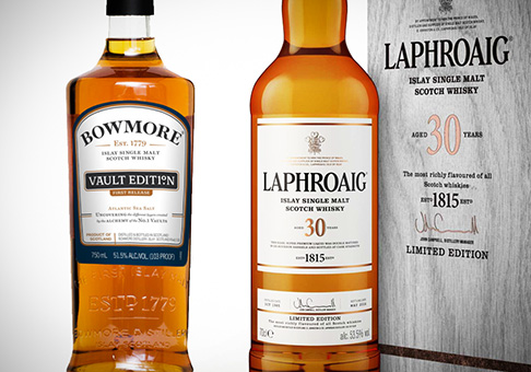 Laphroaig 30 Years / Bowmore Vault Edition
