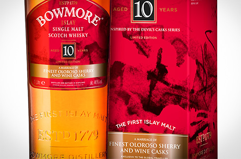 Bowmore 10 Year Old - Oloroso and Wine casks