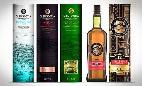 Glen Scotia / Loch Lomond travel retail