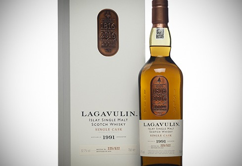 Lagavulin 1991 - 200th Anniversary single cask
