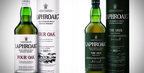 Laphroaig Four Oak // Laphroaig The 1815