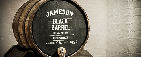 Jameson Black Barrel Cask Strength
