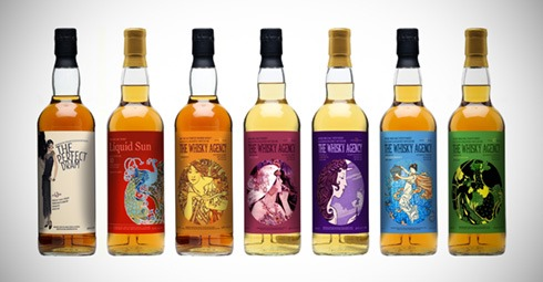 The Whisky Agency - Art Nouveau Ladies