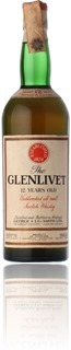 Glenlivet 12 Years - Baretto Import 1970s