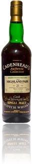 Highland Park 1972 / 1994 Cadenhead