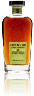 Mortlach 1998 - Signatory for The Whisky Exchange