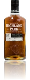 Highland Park 12 Years cask #1140 - World Duty Free
