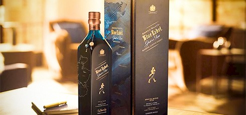 Johnnie Walker Blue Label - Brora & Rare