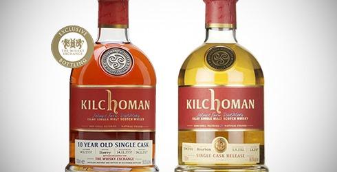 Kilchoman 2007 TWE / Kilchoman 2011 Master of Malt