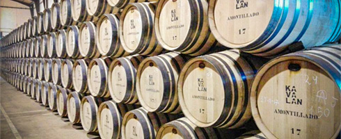 Kavalan Amontillado casks